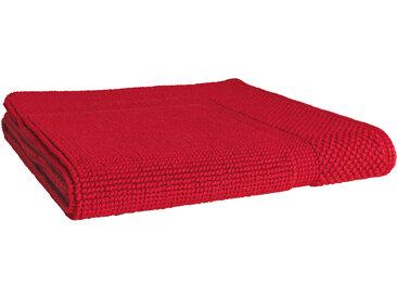 Tapis de bain 60x60 cm LOFTY Rouge 1500 g/m2