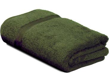 Drap de bain 100x150 cm ROYAL CRESENT Vert Bouteille 650 g/m2