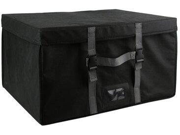 Malle de rangement rigide et sac compresseur d'air 150L noir