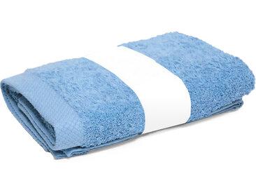 Serviette de toilette 50x100 cm PURE Bleu Ciel 550 g/m2