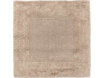 Tapis de bain 60x60 cm DREAM marron Sable 2100 g/m2