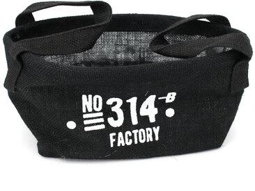 Panier de rangement 4L en jute noir / 314 FACTORY