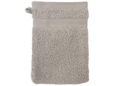 Gant de toilette 16x21 cm ROYAL CRESENT Gris Souris 650 g/m2