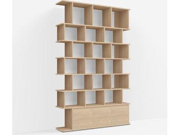 Étagère de Rangement Chêne - Placage – design, moderne