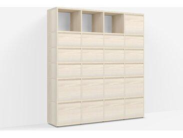 Étagère de Rangement Frêne - Placage – design, moderne