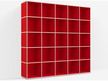 Meuble Platine sur measure en Panneaux de Particules - Vrai Rouge – design, moderne