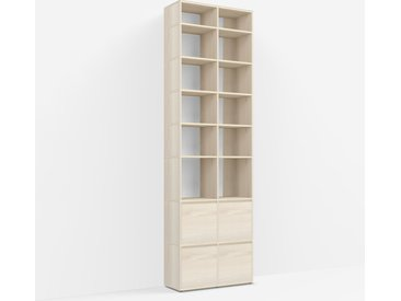 Meuble Bibliothèque Frêne - Placage – design, moderne