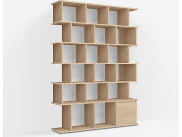 Étagère Bibliothèque Chêne - Placage – design, moderne