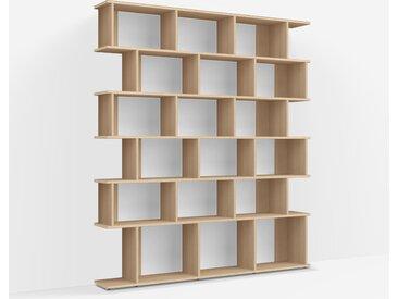 Bibliothèque Chêne - Placage – design, moderne
