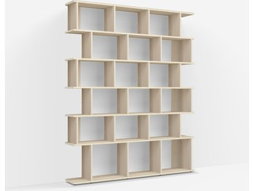Bibliothèque Frêne - Placage – design, moderne