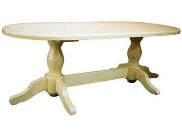 Table repas ovale pin massif Transilvania