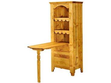 Table de berger 1 porte charnières bois en pin massif Tradition