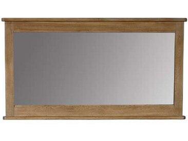 Miroir chêne massif pour buffet 4 portes Loire