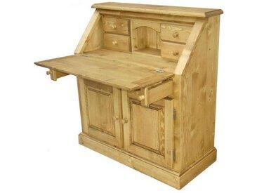 Scriban pin massif 4 petits tiroirs 3 portes Transilvania