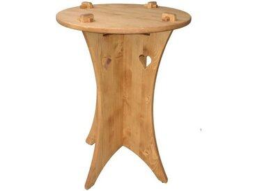 Table bistrot en pin massif Chamonix