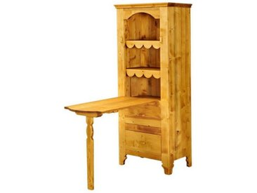 Table de berger 1 porte en pin massif Tradition
