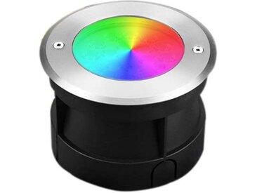 Spot LED Extérieur à Encastrer 9W RGB CCT IP68 AC12V-DC12-24V LoRa pilotable RD-9L