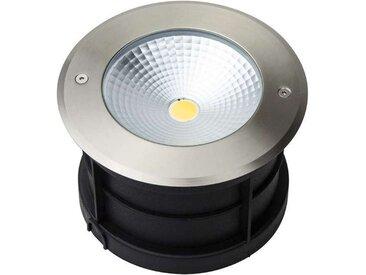 Spot LED Extérieur à Encastrer 18W (éclairage 150W) IP67 - Blanc Chaud 3000K