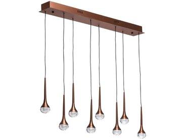 Hi-Tech Flensburg café métal transparent 5W LED 400 Lm 4000K peut etre dimmable avec un interrupteur 609015408