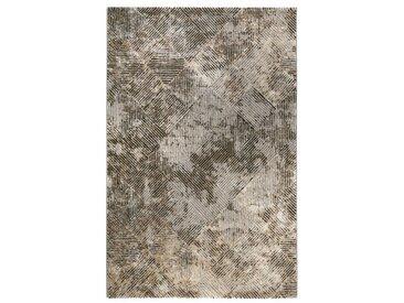 Tapis Vintage Design Tiles Taupe