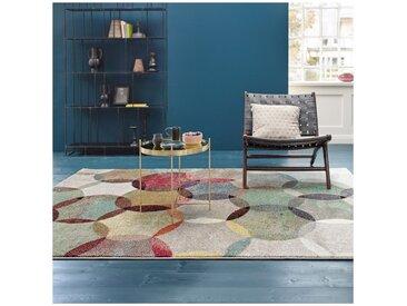 Tapis Multicolore de Salon Modernina