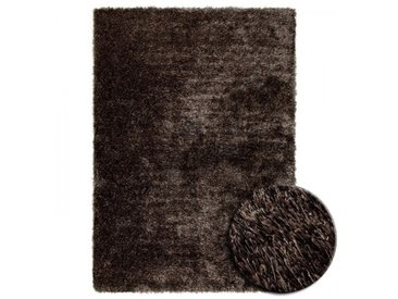 Tapis Shaggy Brun New Glamour