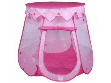 IDIMEX Tente de jeu enfant GIRLY rose
