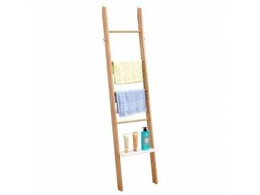 IDIMEX Etagère échelle de salle de bain MELBOURNE, en bambou