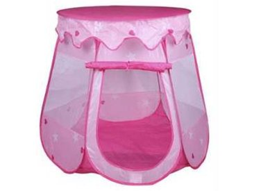 idimex Tente de jeu enfant GIRLY rose