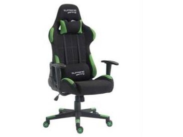 idimex Chaise de bureau gaming SWIFT, noir et vert