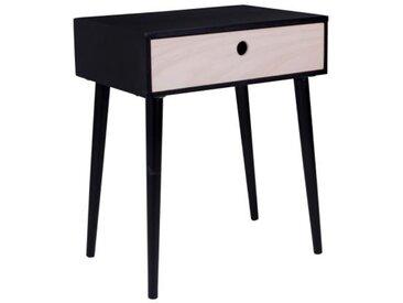 Table De Chevet Scandinave Noire ETRENNE