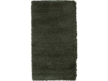 Descente de lit à poils longs vert 60x110cm - KRIS 324