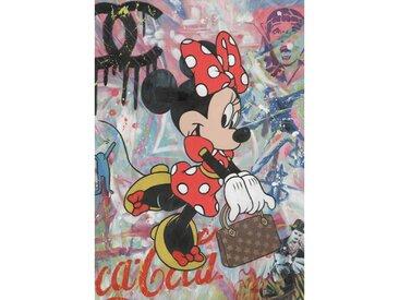 Peinture sur toile cadre décoratif personnage Disney® - MINNIE
