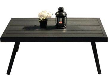 Table basse de jardin en métal gris anthracite - AROUSA