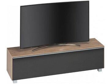 Banc tv bois clair/noir - BASS