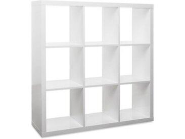 Étagère de rangement cube 9 casiers - MAURO