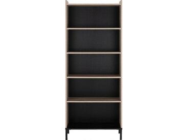 Colonne de rangement avec étagères en bois L80cm - CASTEL 165