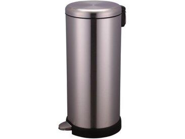 Poubelle de cuisine à pédale 30L Inox - WG