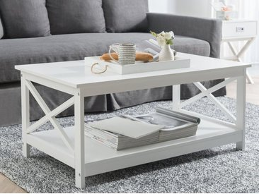 Table basse blanche FOSTER