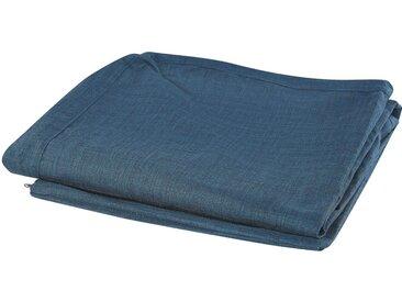 Housse pour canapé en tissu bleu lavable à la machine
