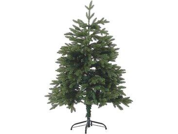 Sapin de Noël artificiel vert avec branches ajustables 120 cm de hauteur