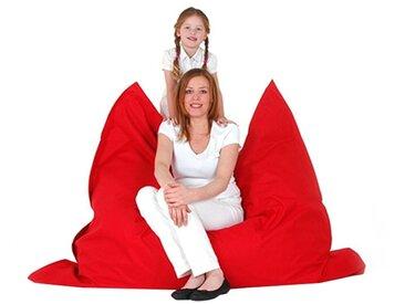 Pouf géant XXL 140 x 180 cm rouge