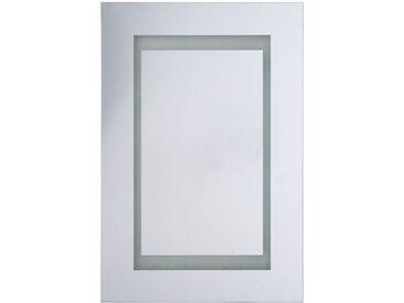 Armoire de toilette 1 porte avec miroir lumineux à LEDs
