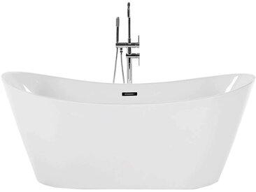 Baignoire pour salle de bain relaxante, en acrylique blanc ANTIGUA