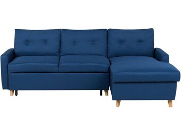 Canapé d'angle convertible au design moderne offrant espace et élégance