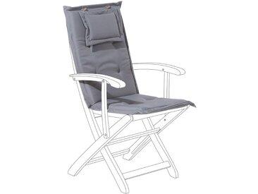 Coussin pour siège de couleur grise foncé
