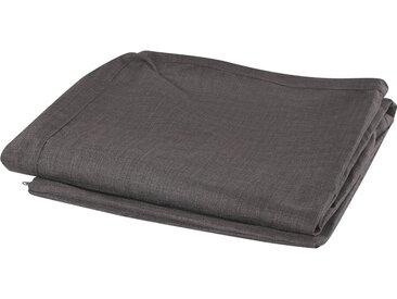 Housse pour canapé en tissu gris foncé lavable à la machine