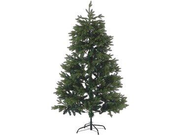 Sapin de Noël artificiel vert avec branches ajustables 180 cm de hauteur