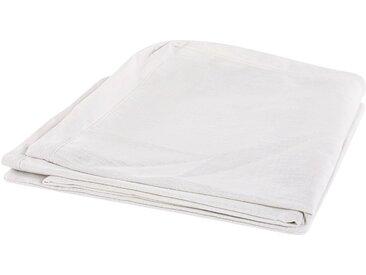 Housse pour canapé en tissu blanc lavable à la machine