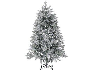 Sapin de Noël artificiel décoratif avec effet neige naturelle 180 cm de hauteur